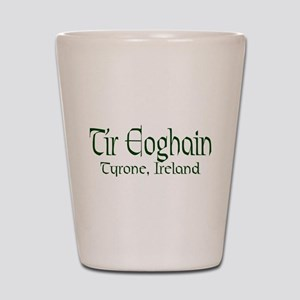 County Tyrone (Gaelic) Shot Glass